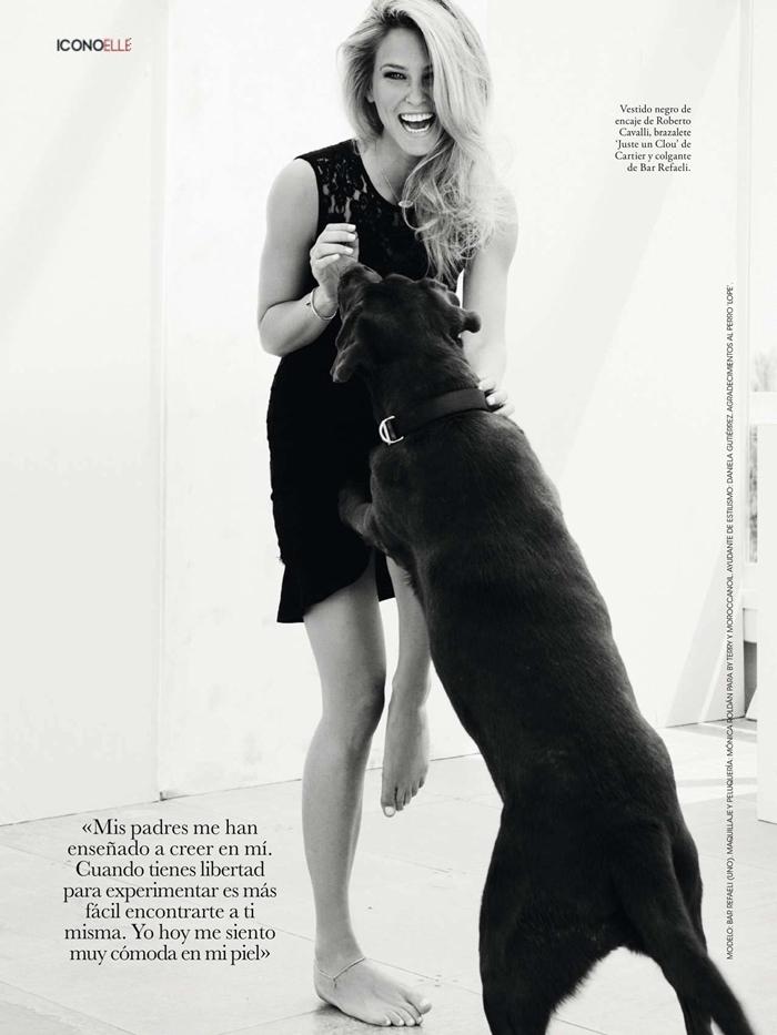 Elle magazine Spain features Bar Refaeli by Juan Aldabaldretecu in August 2013 -global-annal-bhavesh-kumar-8